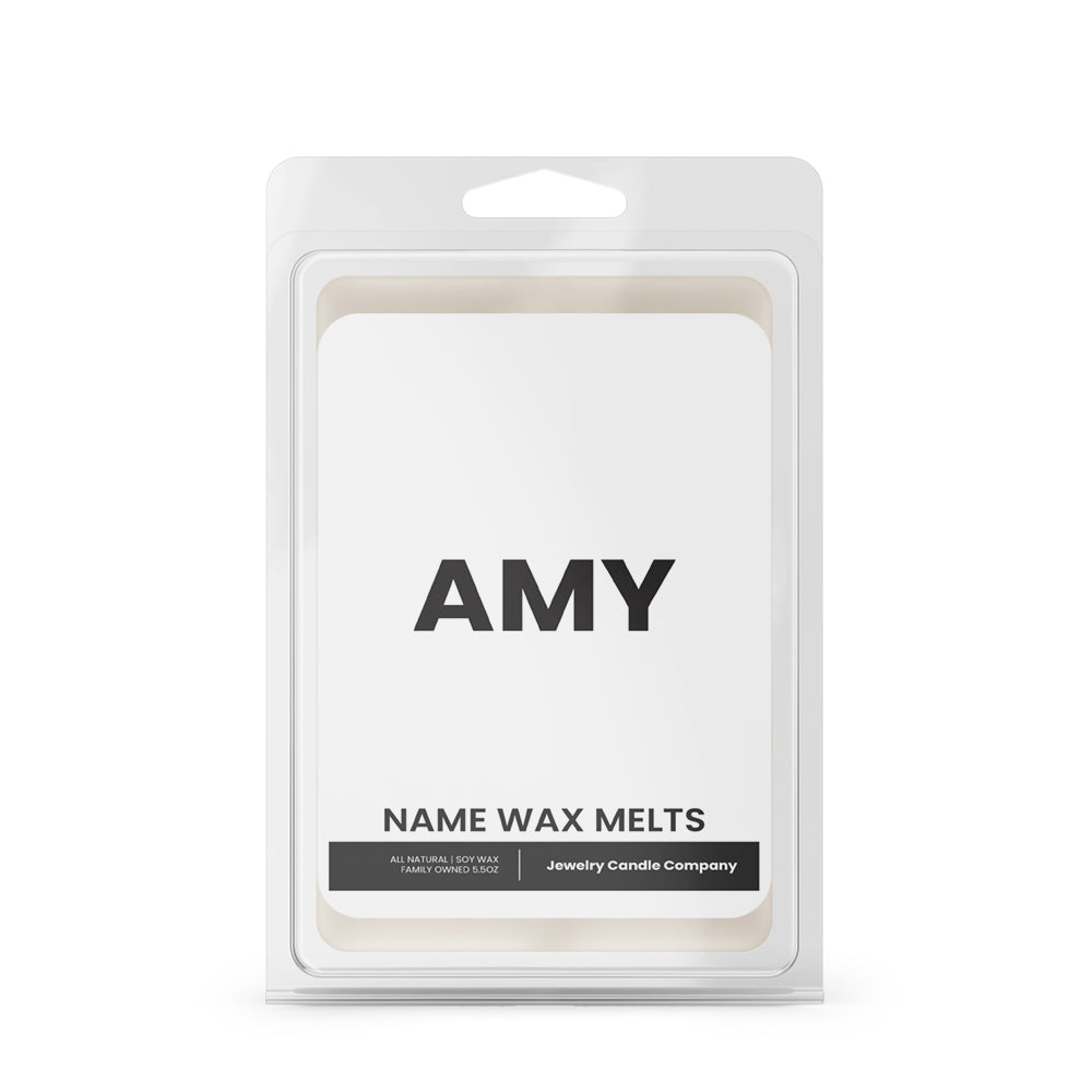 AMY Name Wax Melts