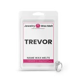 TREVOR Name Jewelry Wax Melts