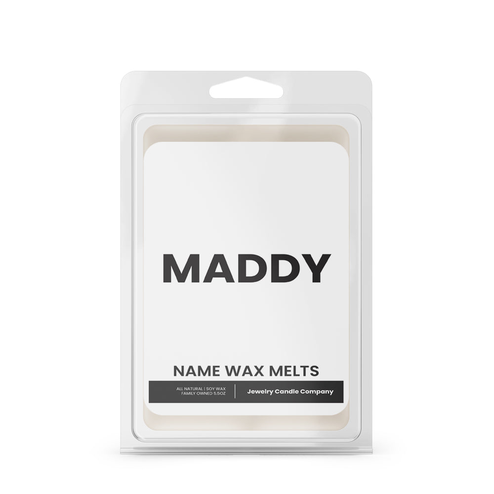 MADDY Name Wax Melts
