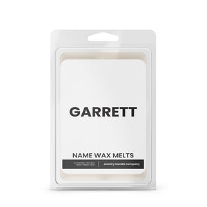 GARRETT Name Wax Melts