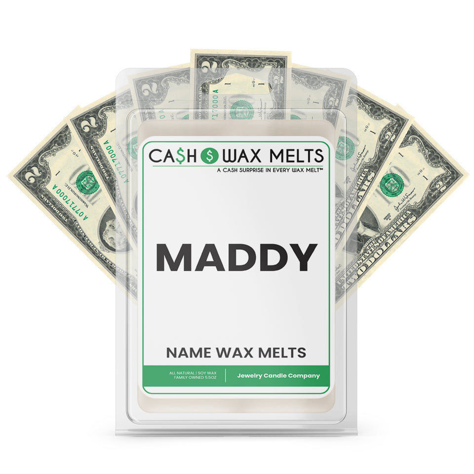 MADDY Name Cash Wax Melts