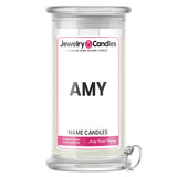 AMY Name Jewelry Candles