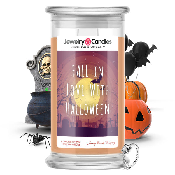 Fall in love with halloween Jewelry Candle