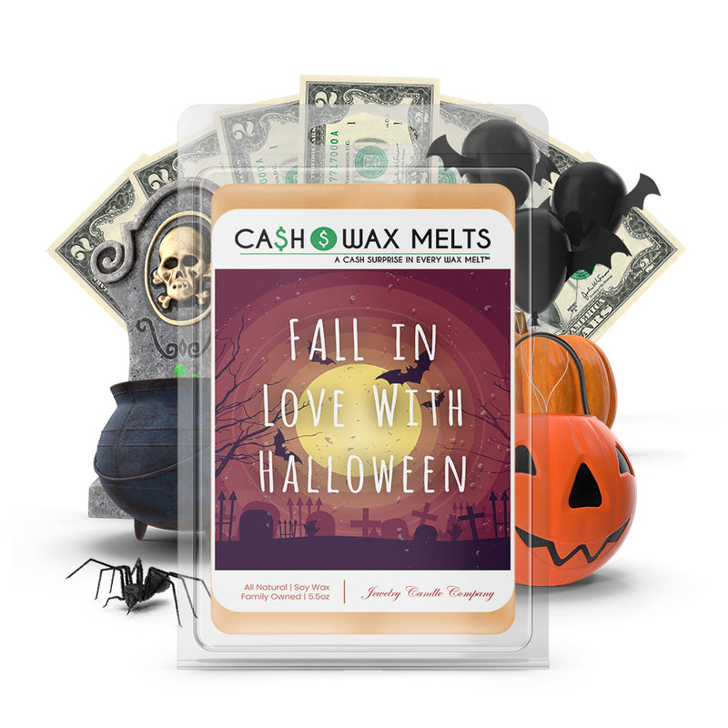 Fall in love with halloween Cash Wax Melts