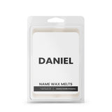 DANIEL Name Wax Melts