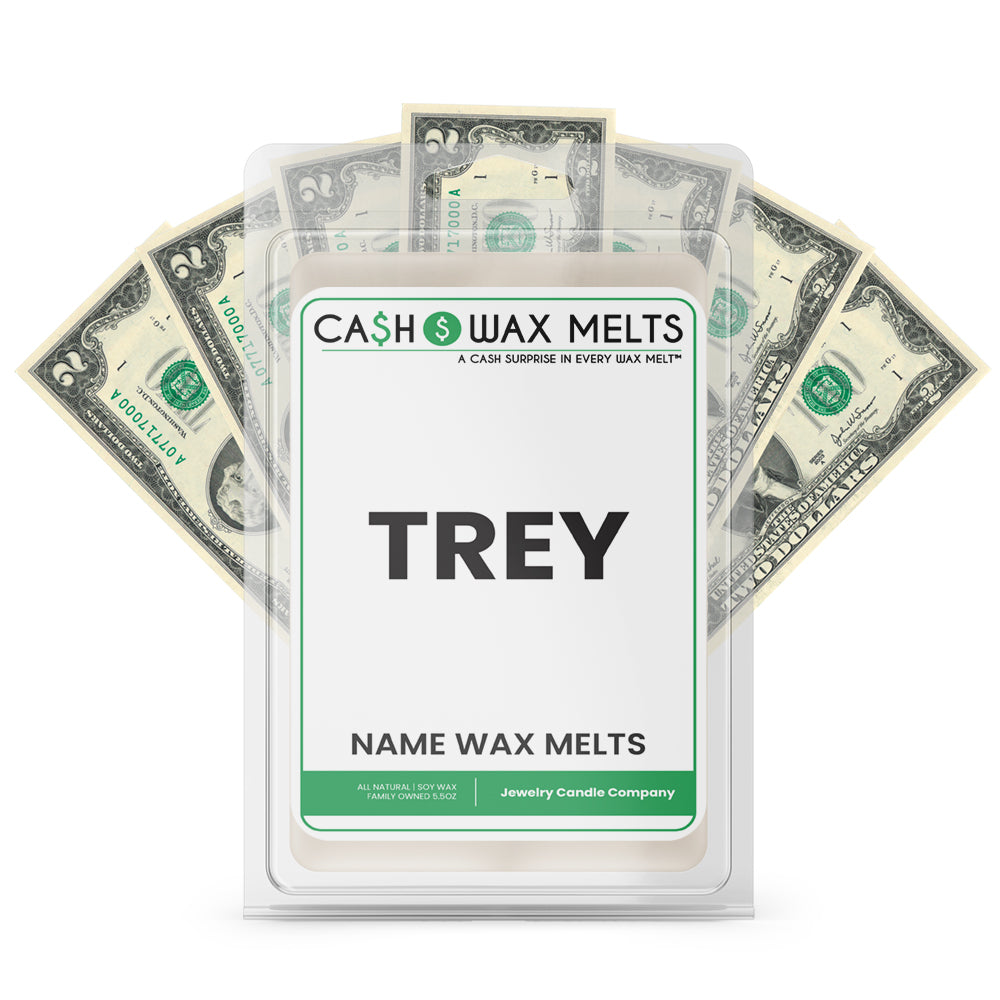 TREY Name Cash Wax Melts