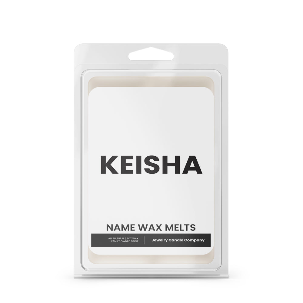 KEISHA Name Wax Melts