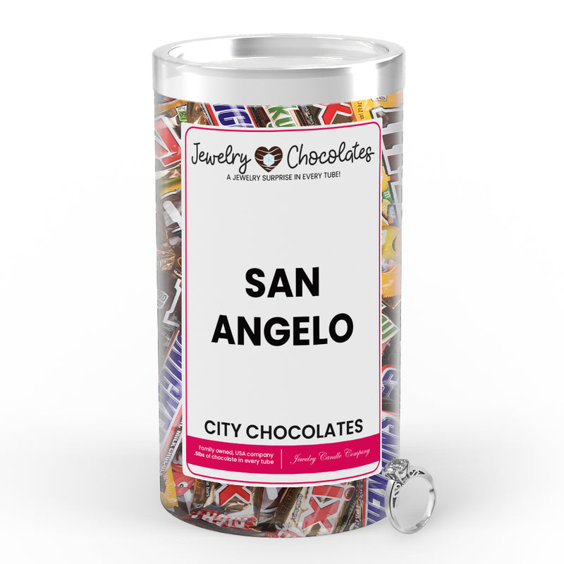 San Angelo City Jewelry Chocolates