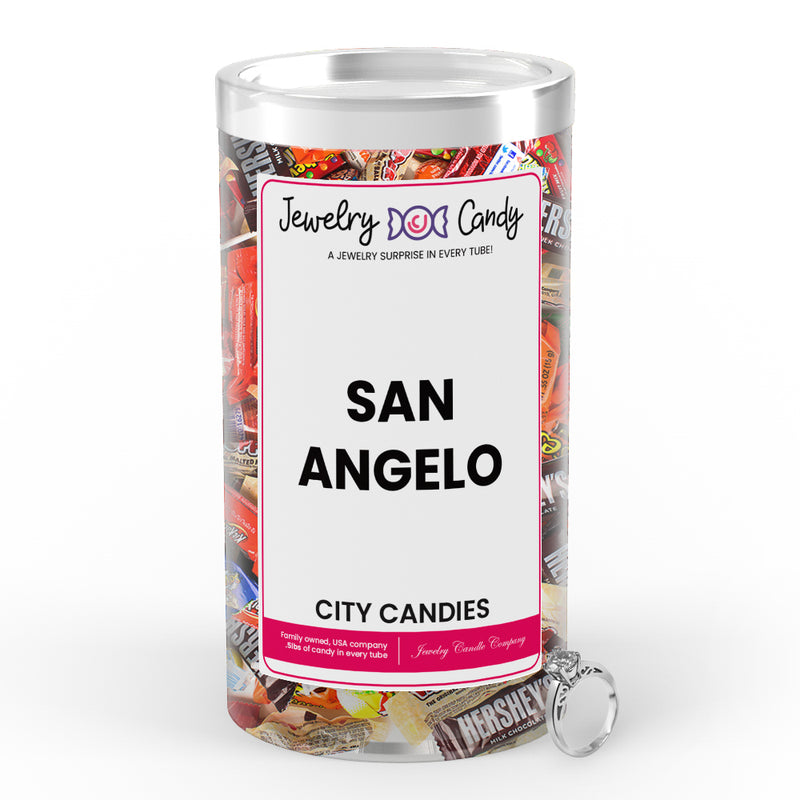San Angelo City Jewelry Candies