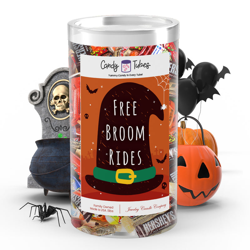 Free broom rides Candy