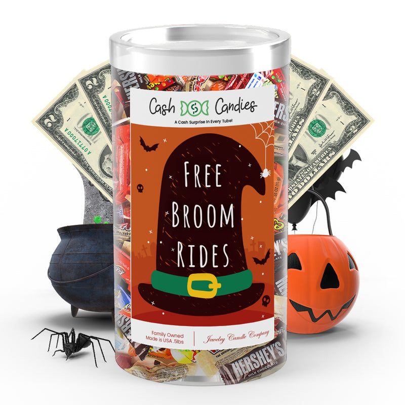 Free broom rides Cash Candy
