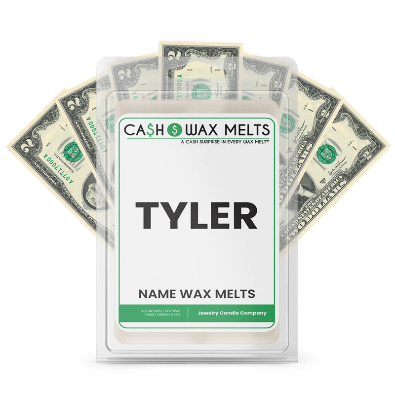 TYLER Name Cash Wax Melts