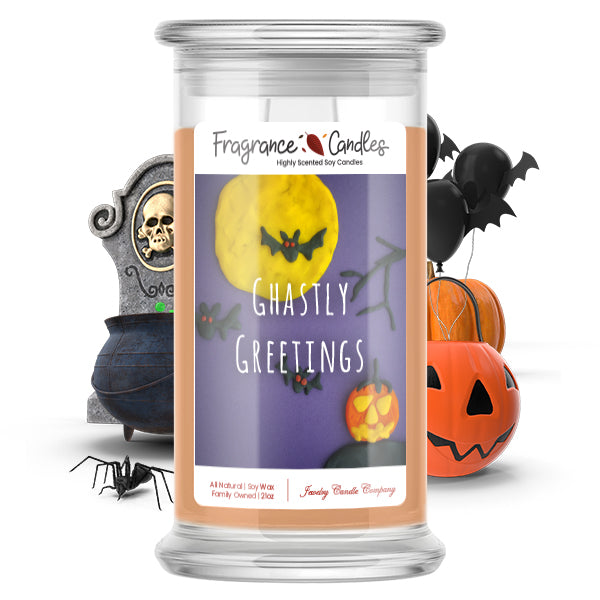 Ghastly greetings Fragrance Candle