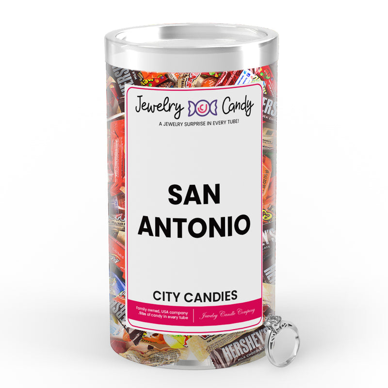 San Antonio City Jewelry Candies