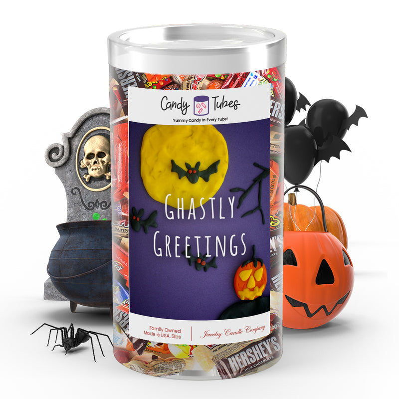 Ghastly greetings Candy