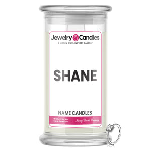 SHANE Name Jewelry Candles