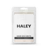 HALEY Name Wax Melts
