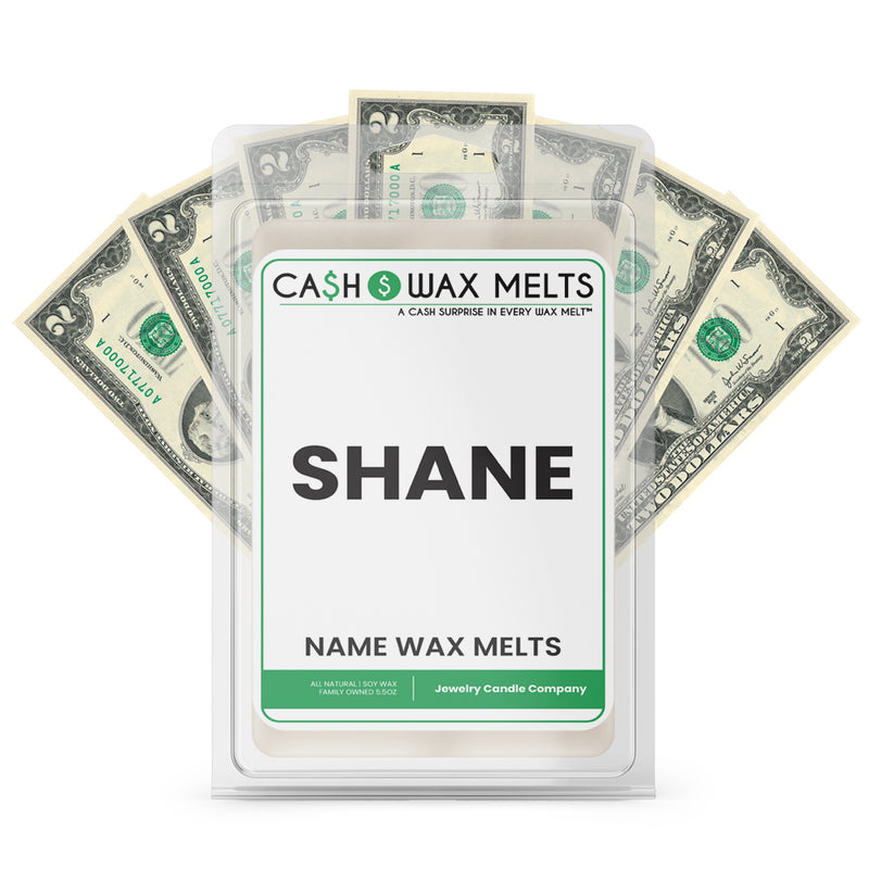 SHANE Name Cash Wax Melts
