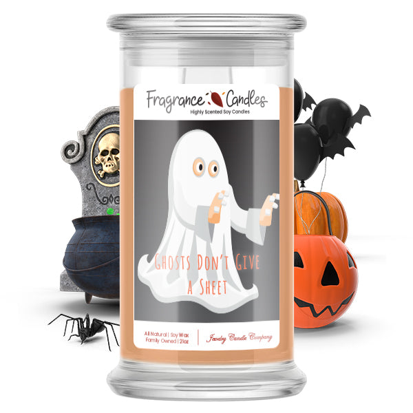 Ghosts don't give a sheet Fragrance Candle