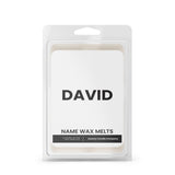DAVID Name Wax Melts