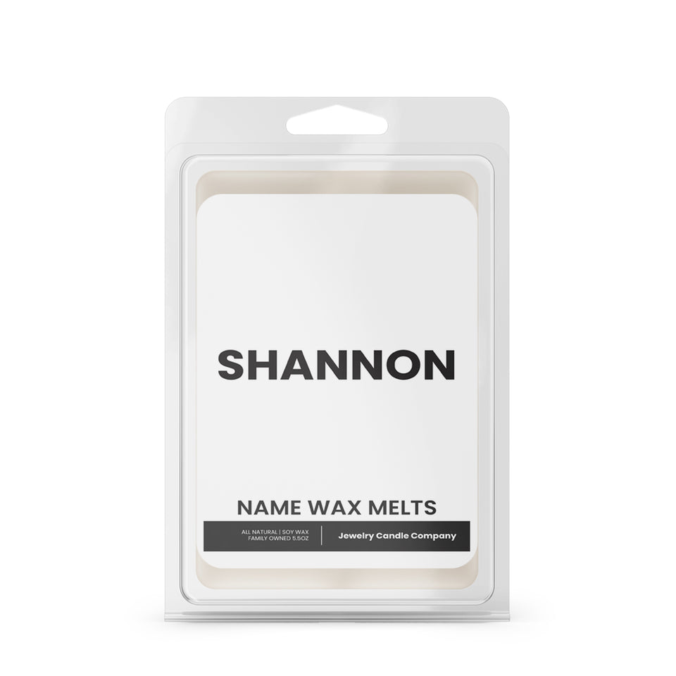 SHANNON Name Wax Melts