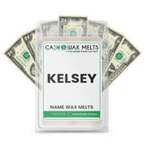 KELSEY Name Cash Wax Melts