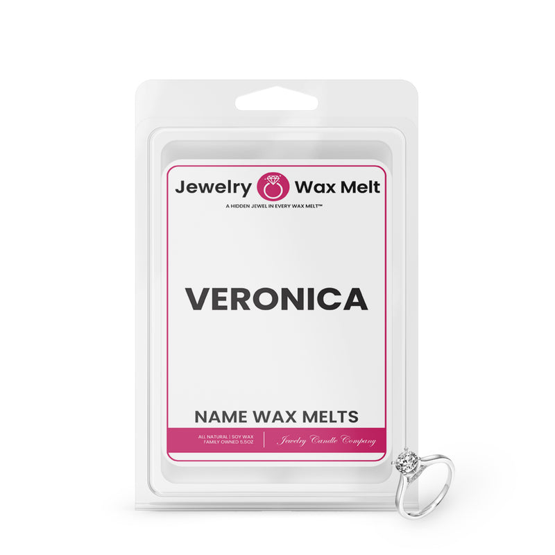 VERONICA Name Jewelry Wax Melts