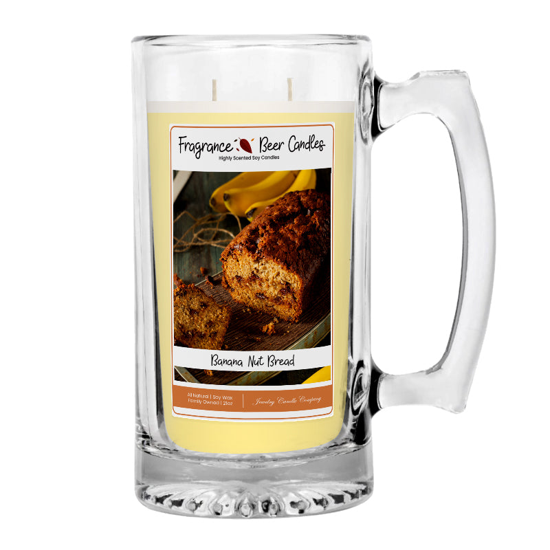 Banana Nut Bread Fragrance Beer Candle