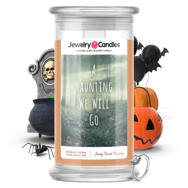 A hunting we will go Jewelry Candle