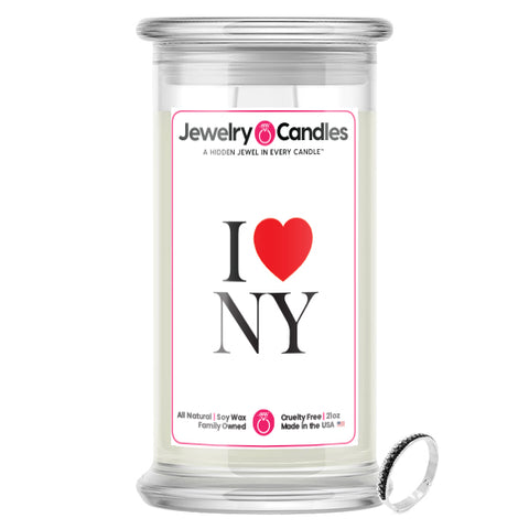 I Love NY Jewelry Candle
