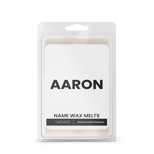 AARON Name Wax Melts
