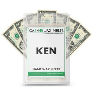 KEN Name Cash Wax Melts
