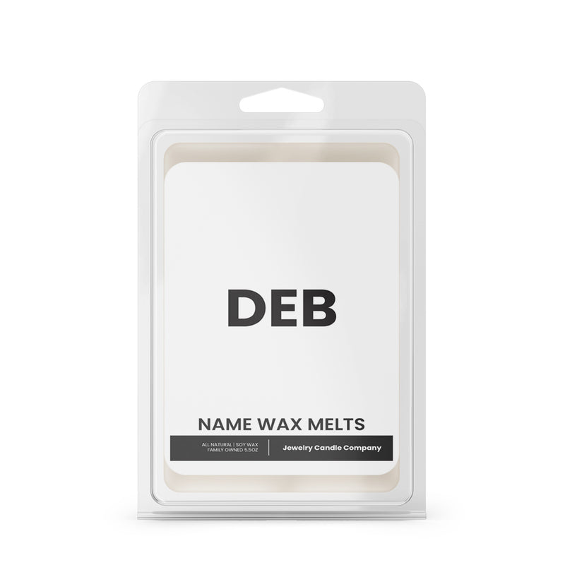 DEB Name Wax Melts