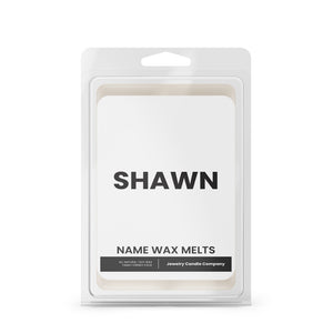 SHAWN Name Wax Melts