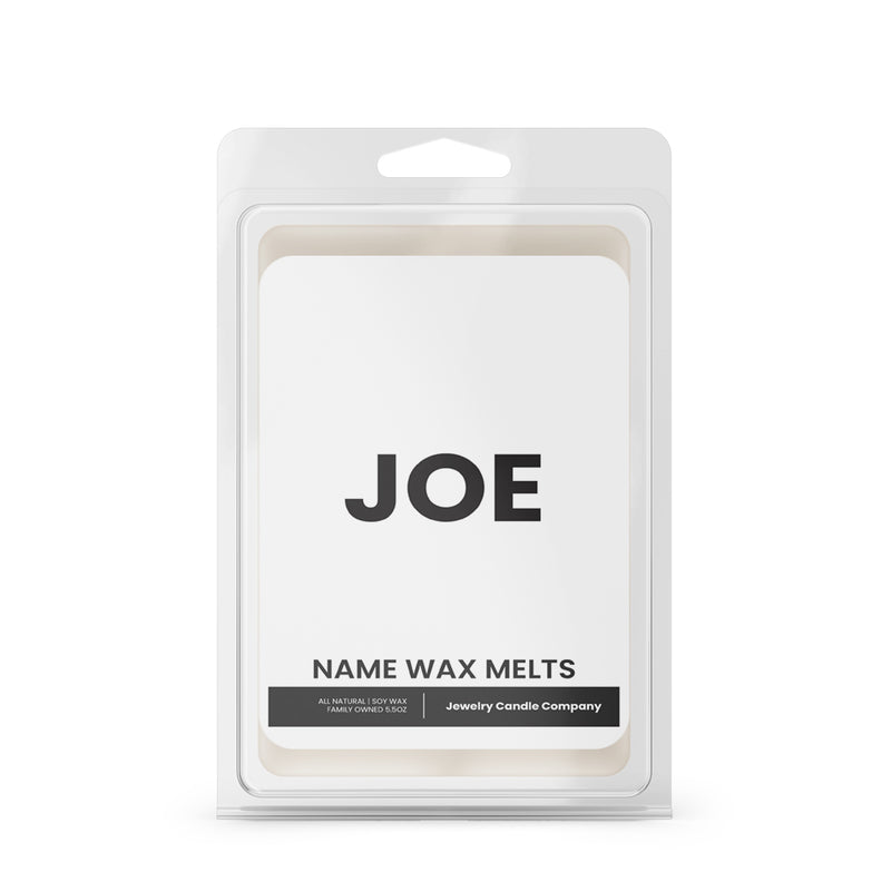 JOE Name Wax Melts