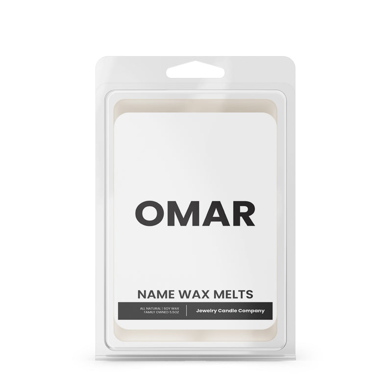 OMAR Name Wax Melts