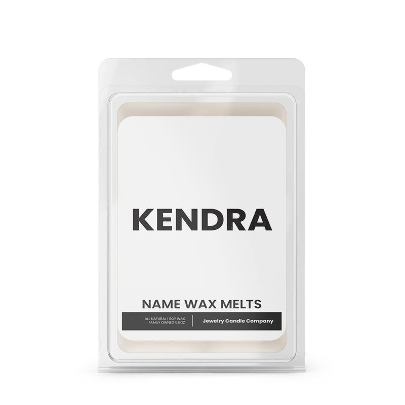 KENDRA Name Wax Melts