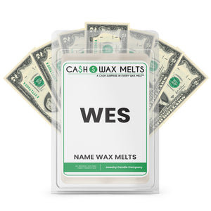 WES Name Cash Wax Melts