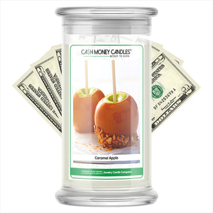 Caramel Apple Cash Money Candles