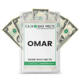 OMAR Name Cash Wax Melts