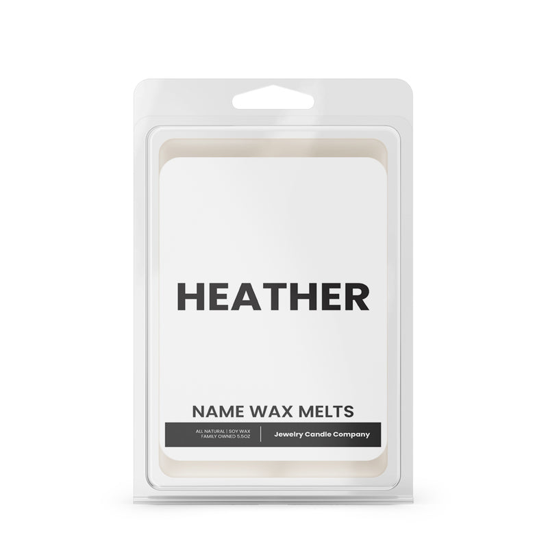 HEATHER Name Wax Melts