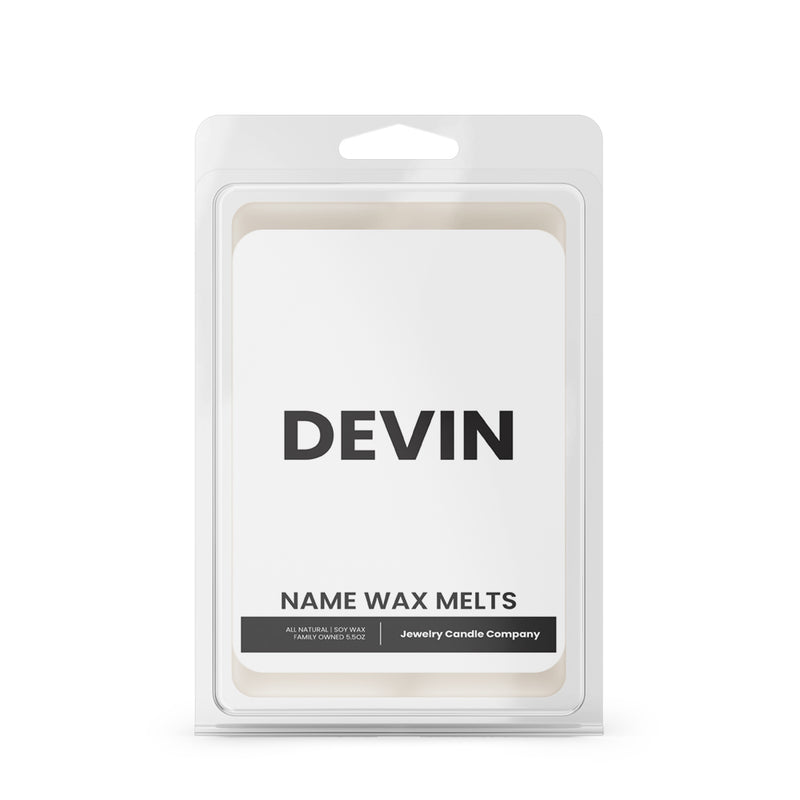 DEVIN Name Wax Melts