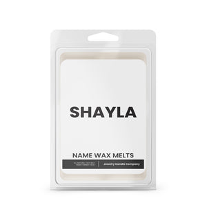 SHAYLA Name Wax Melts