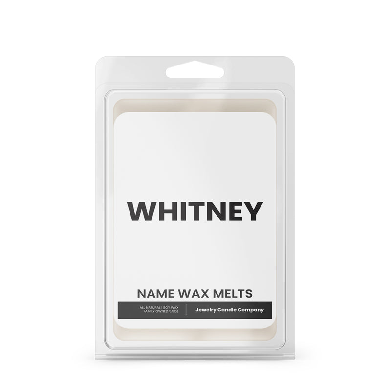 WHITNEY Name Wax Melts