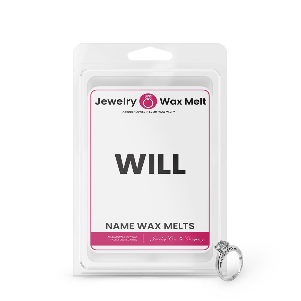 WILL Name Jewelry wax Melts