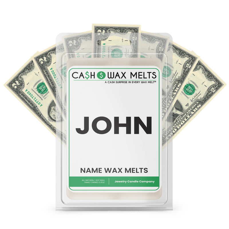 JOHN Name Cash Wax Melts