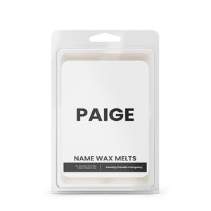 PAIGE Name Wax Melts