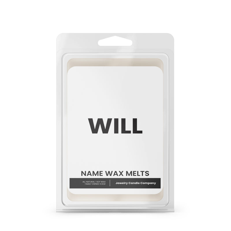 WILL Name Wax Melts