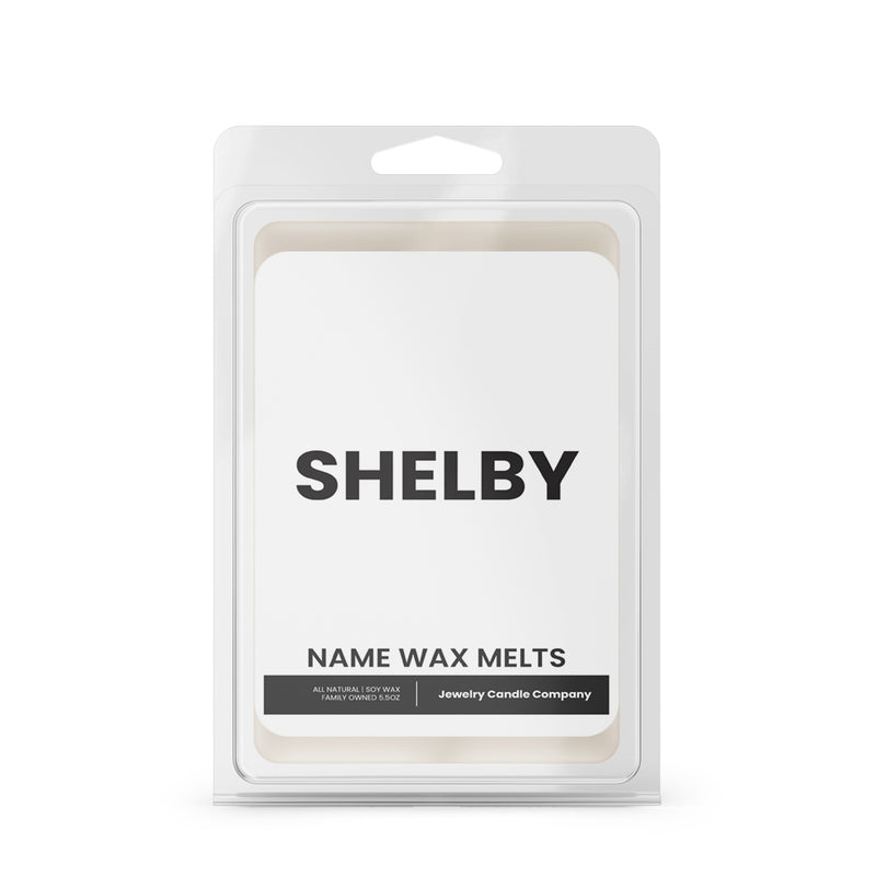 SHELBY Name Wax Melts