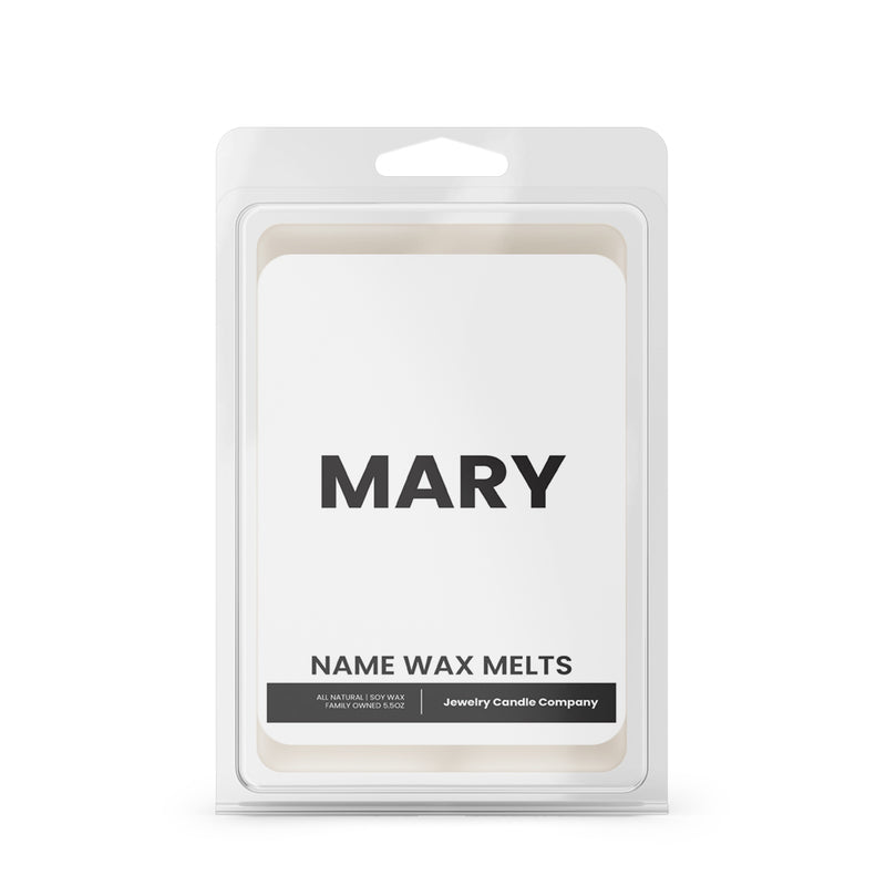 MARY Name Wax Melts